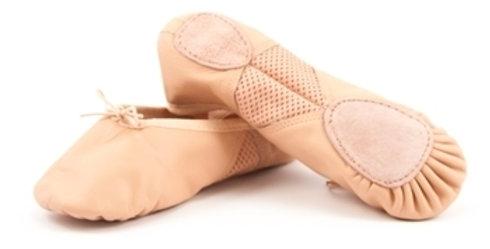 Leo's Arabesque Split Sole Leather Ballet Shoe