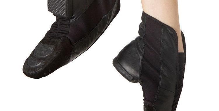 Bloch Trisole Hi Jazz Shoe Style S0491L BLACK