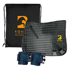 Equine Balance Bands Complete Kit. Saddle Pad, bum bands, bungee bands, equiband.