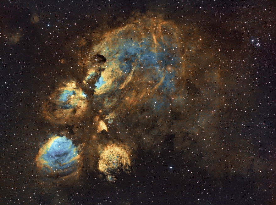 Cat Paw's Nebula