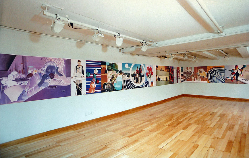 Surfer - installation view