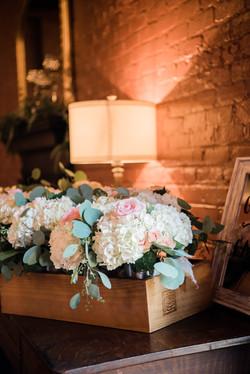 Florals and bricks