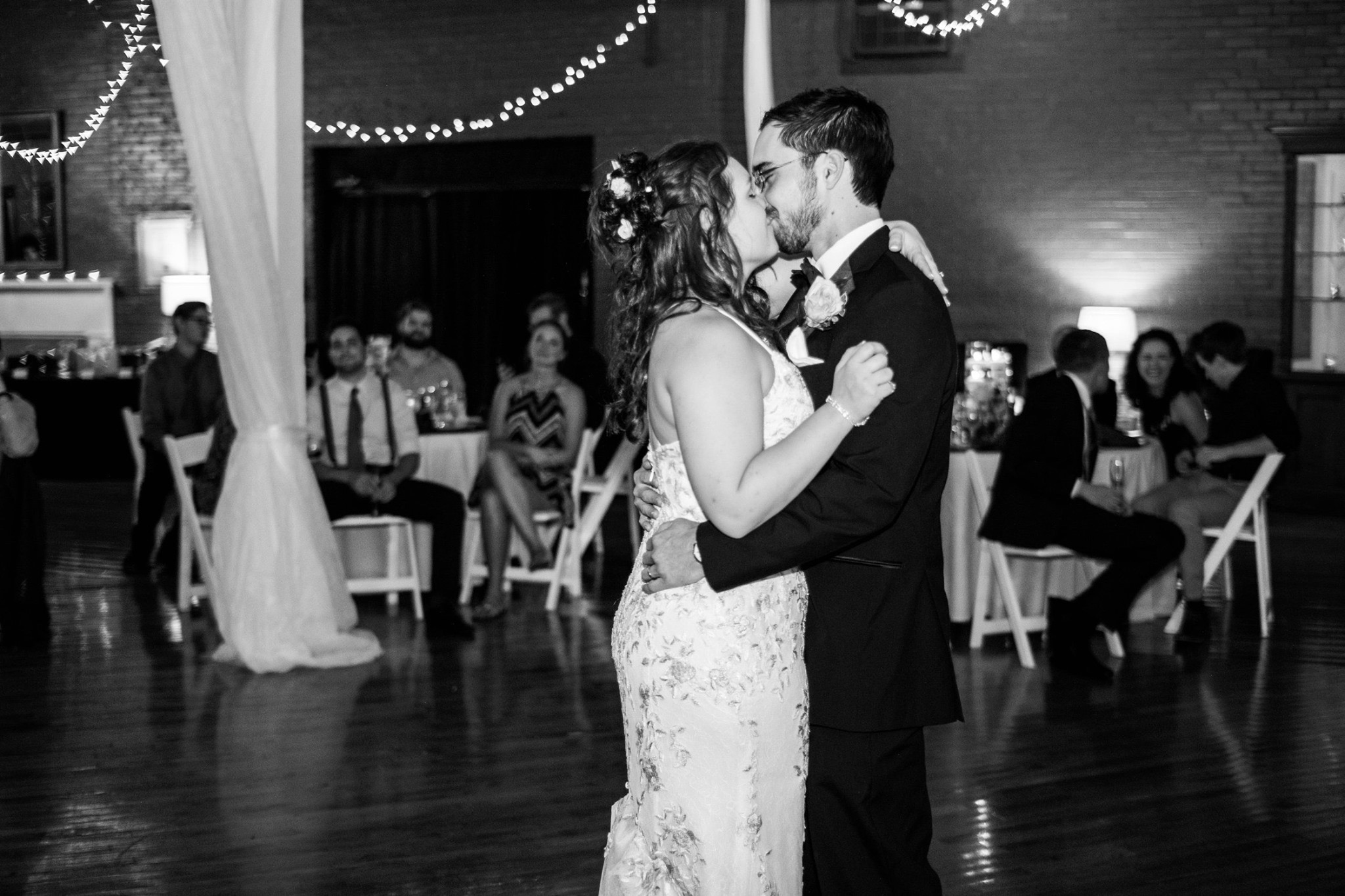 First dance vibes.
