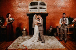 Fireplace wedding options