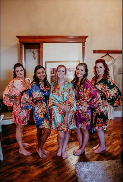 Bridal suite with your girls