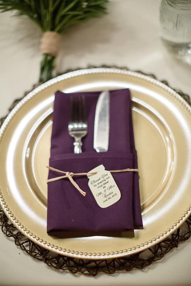 Layered table decor