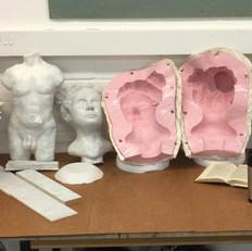 Renaissance sculpture - Head and Torso