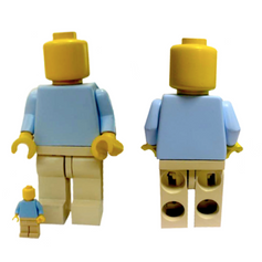 1:4 Scale Working Replica - Lego Man