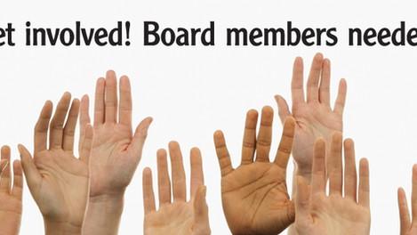Seeking Board Members for 2019!
