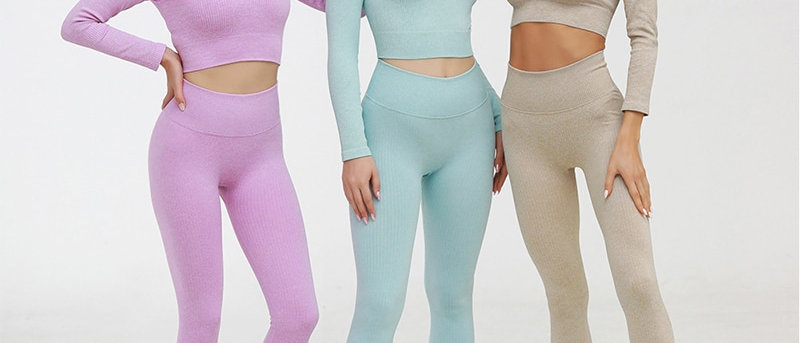 Ingrid Ribbed Sports Suits