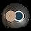 Thumbnail: Ombre à Paupières Mate N°76 - Bleu Marine