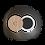 Thumbnail: Ombre à Paupières Mate N°23 - Noir