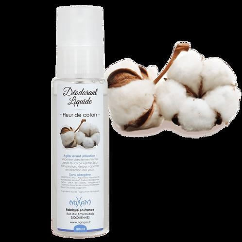 Déodorant Liquide - Fleur de Coton - 100 mL