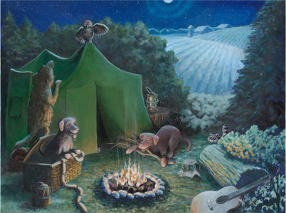 tent- picture book