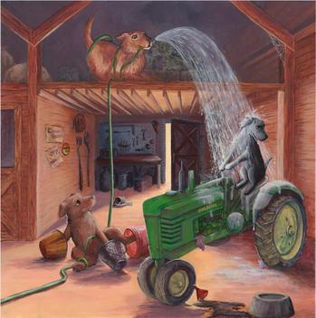 Barn- picture book