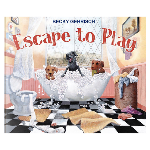 Escape to Play picture book