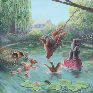 Lake- picture book