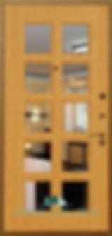 Alt-дверь с зеркалом стальная