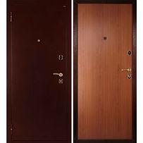 Alt-стальная дверь в квартиру с внутренним открыванием