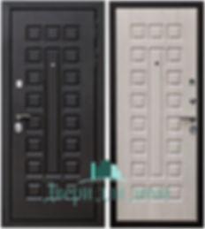 Alt-стальная дверь с отделкой МДФ
