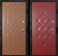 Alt-стальная дверь с внутренним открыванием