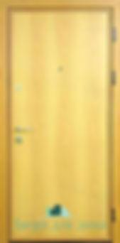 Alt-металлическая дверь с ламнатом