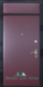 Alt-дверь с винилкожей с верхней вставкой