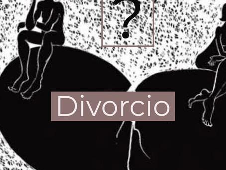Principales dudas en torno al divorcio.