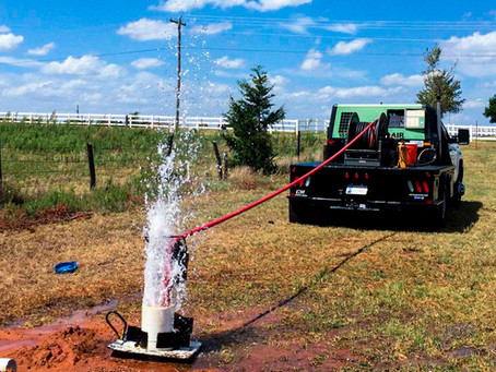 Using Compressed Air for Water Well Drilling