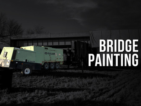 Using Compressed Air for Bridge Painting
