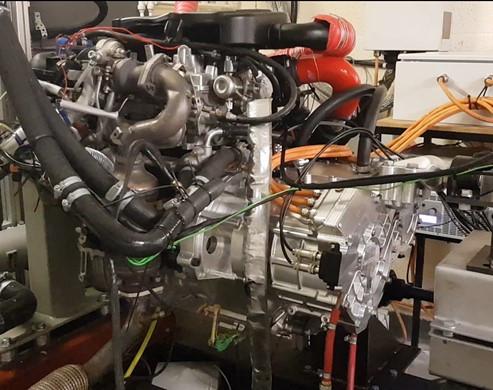 MAGSPLIT Engine Test