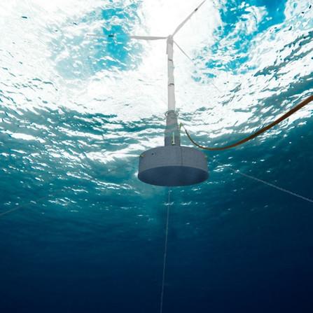 """Compact Holistic Efficient Floating Turbine"""