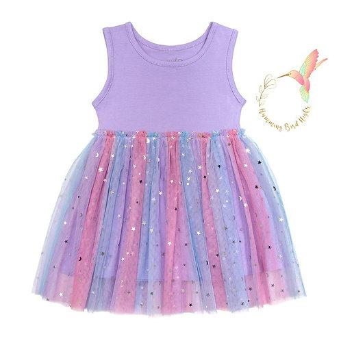 Starry Night Tutu Dress - Size 4T