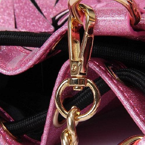 Gliterry Lingge Bucket Bag