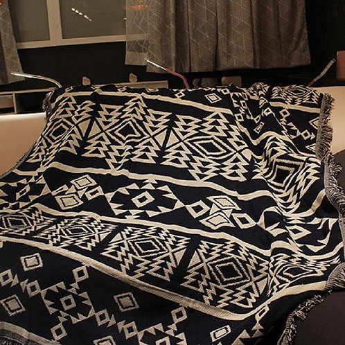 Tribal Style Throw Blanket
