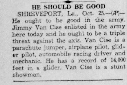 Jimmy Van Cise enlists.jpg