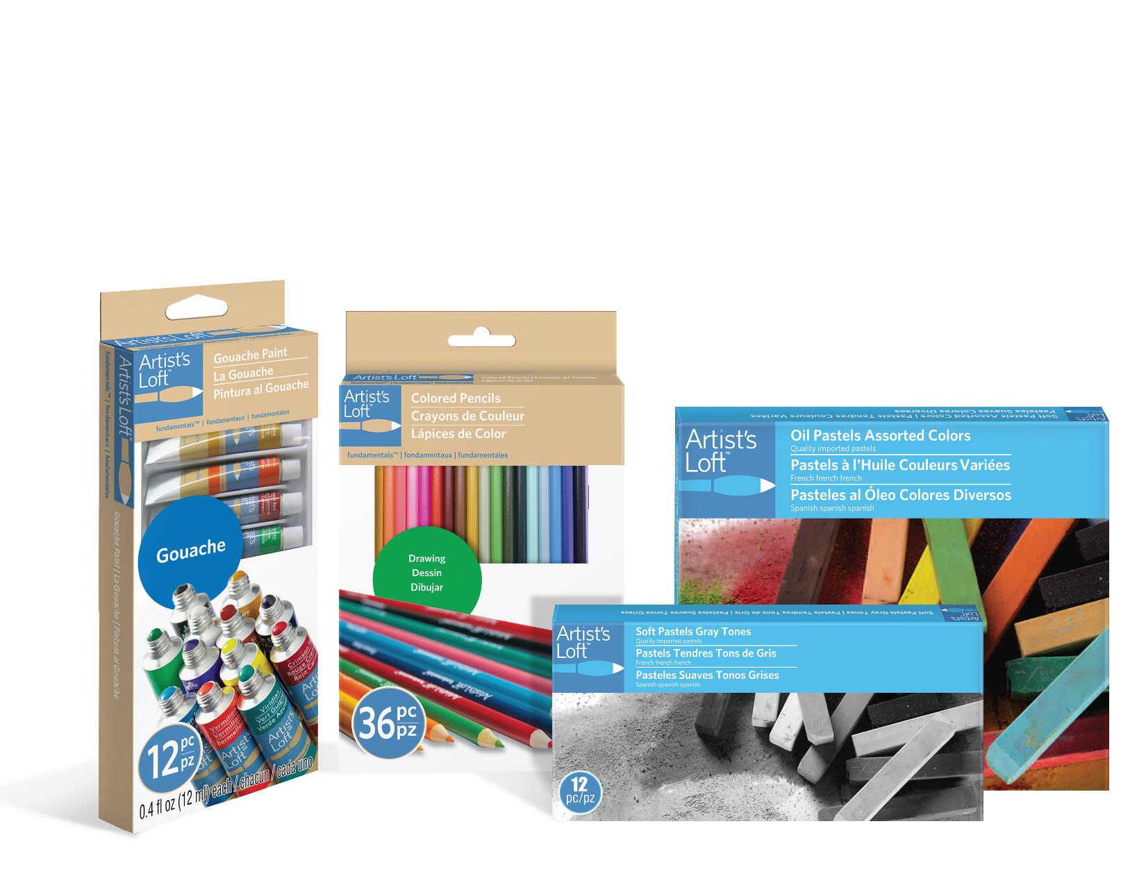 MX14_1405141 - Artist Loft Pastels