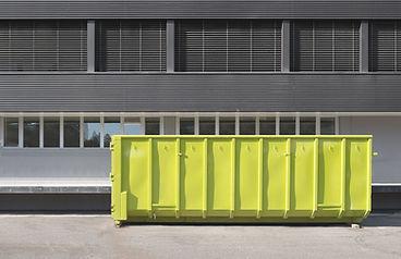 Container amarelo