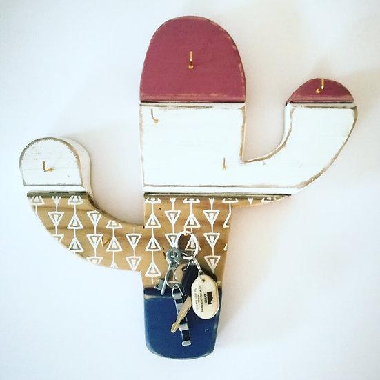 Cactus keyring / Jewelry holder
