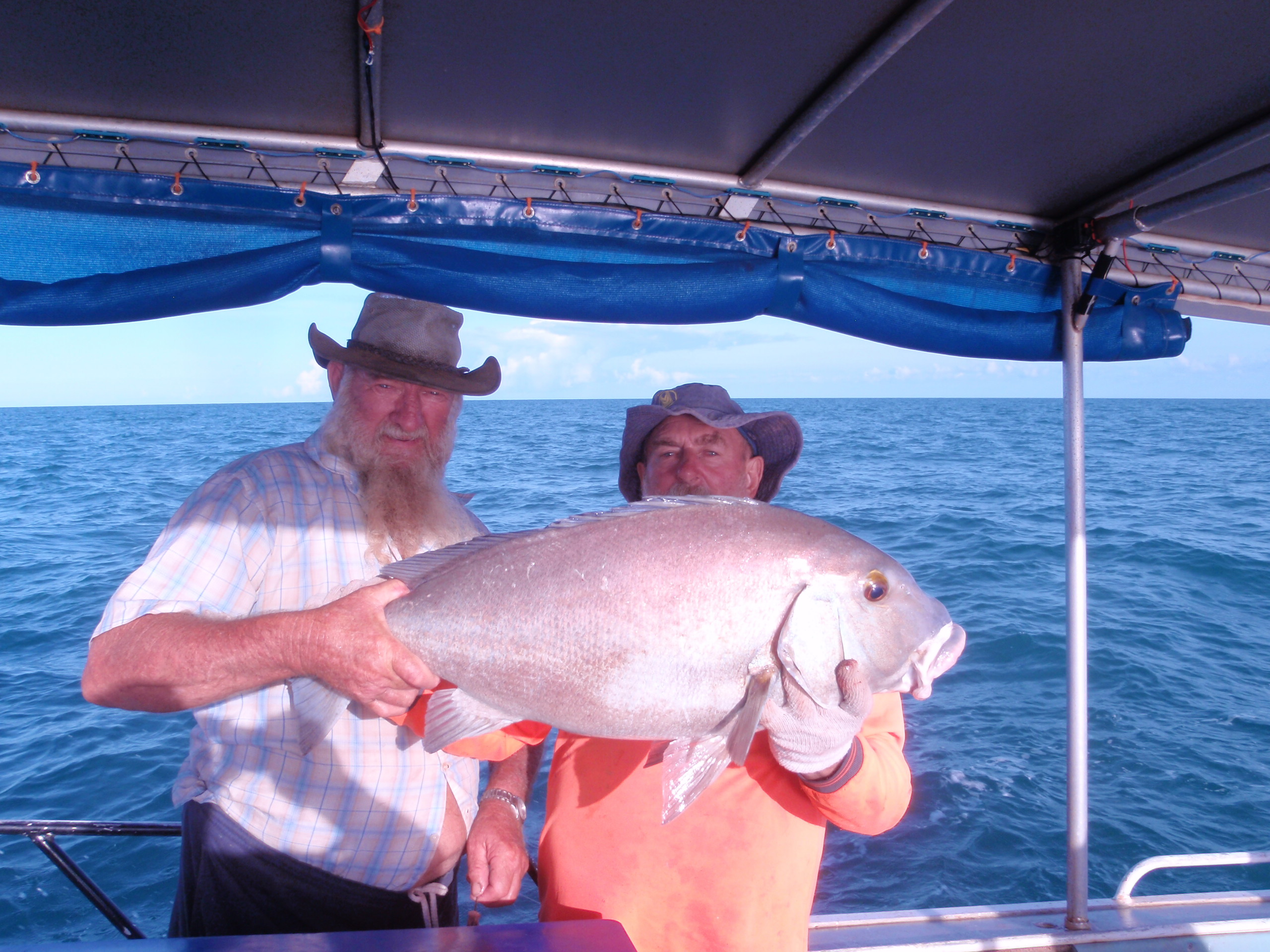 Fishing Ces & Garry with a big catch 249