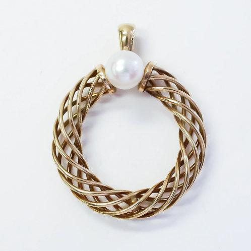 Pearl Helix Pendant
