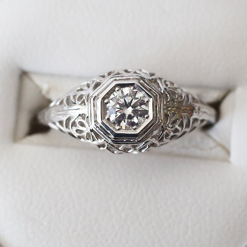 Filligree Vintage Style Ring