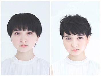 short hair  step bone cut  brooklyn japanse hair salon