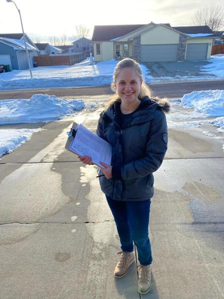 Collecting ballot petition signatures