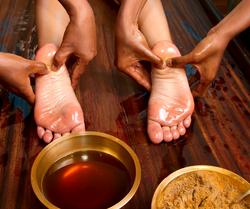 Ancient Feet Washing Honor Ritual