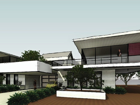 Initial Concept Design for New House Project  is Taking Shape!