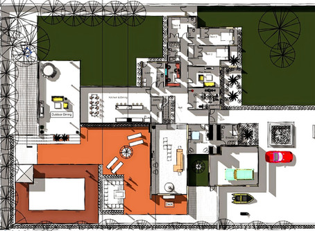 Initial Concept Floor Plans for House Project