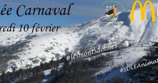 Le carnaval des Monts d'Olmes le 10/02/2016 aux pieds des pistes - Forfait ski à gagner avec vos