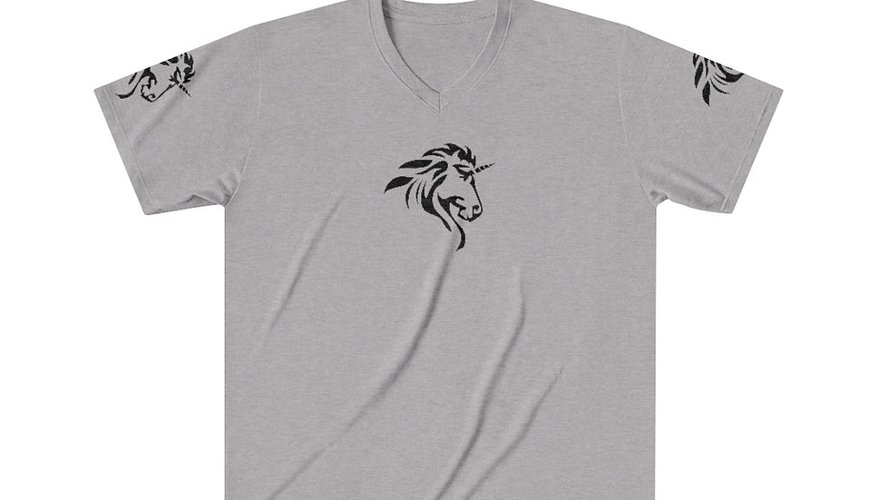Men's Tri-Blend V-Neck T-Shirt