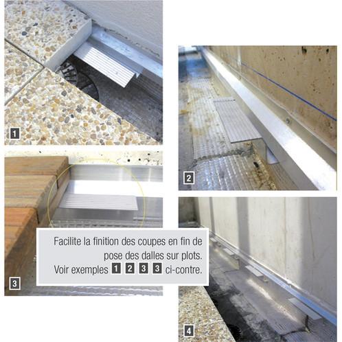 equerre support de dalle cal tanch it aluminium extrud plot dalles garde corps. Black Bedroom Furniture Sets. Home Design Ideas